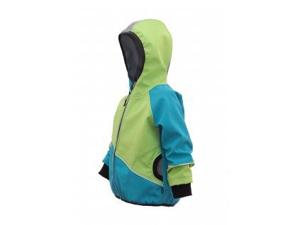 Softshellová bunda bez fleece