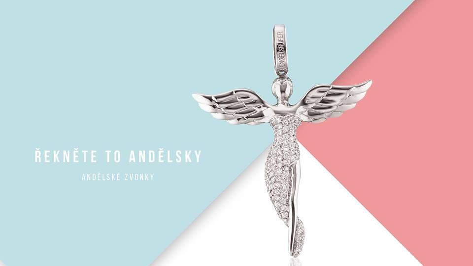 Elegance s andělskými křídly.