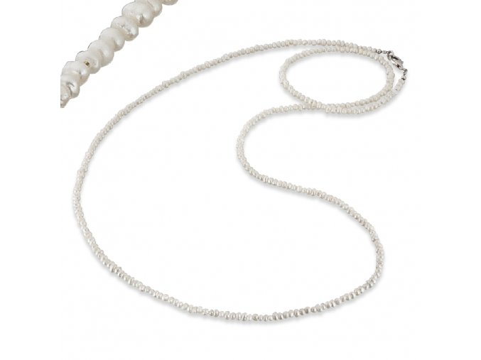 Korále na krk z perel