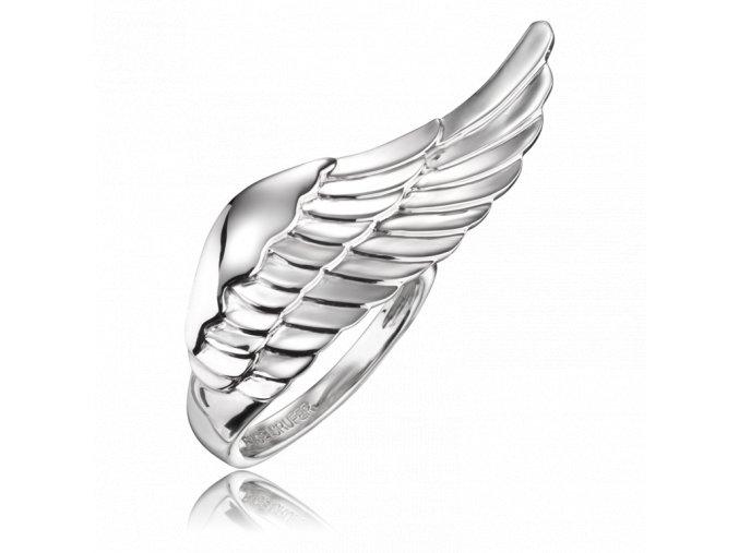 Andělský prsten s křídlem