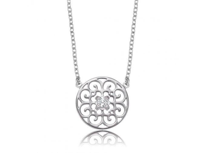 Stříbrný náhrdelník s ORNAMENTEM