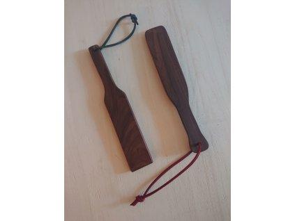 Plácačka dřevěná exotic