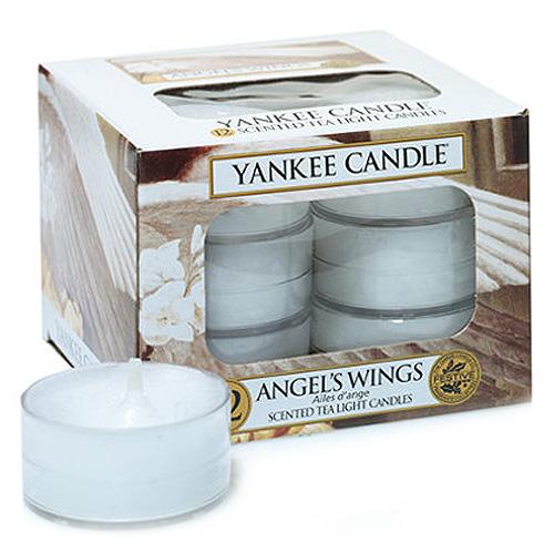 Vonné svíčky Yankee Candle - čajové, 12 ks