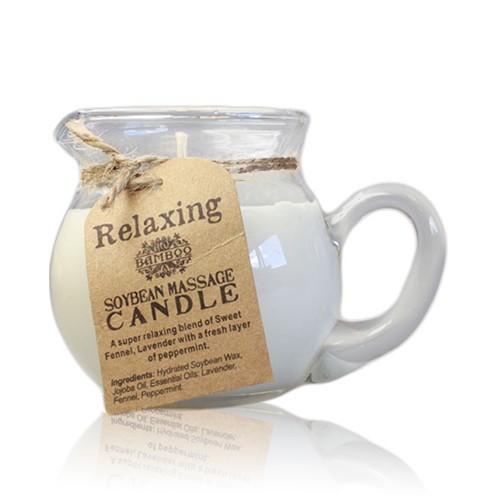 Sójové masážní aroma svíčky