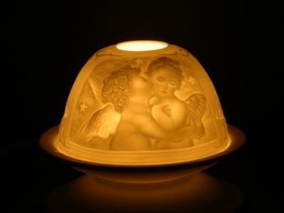 Keramické svícny