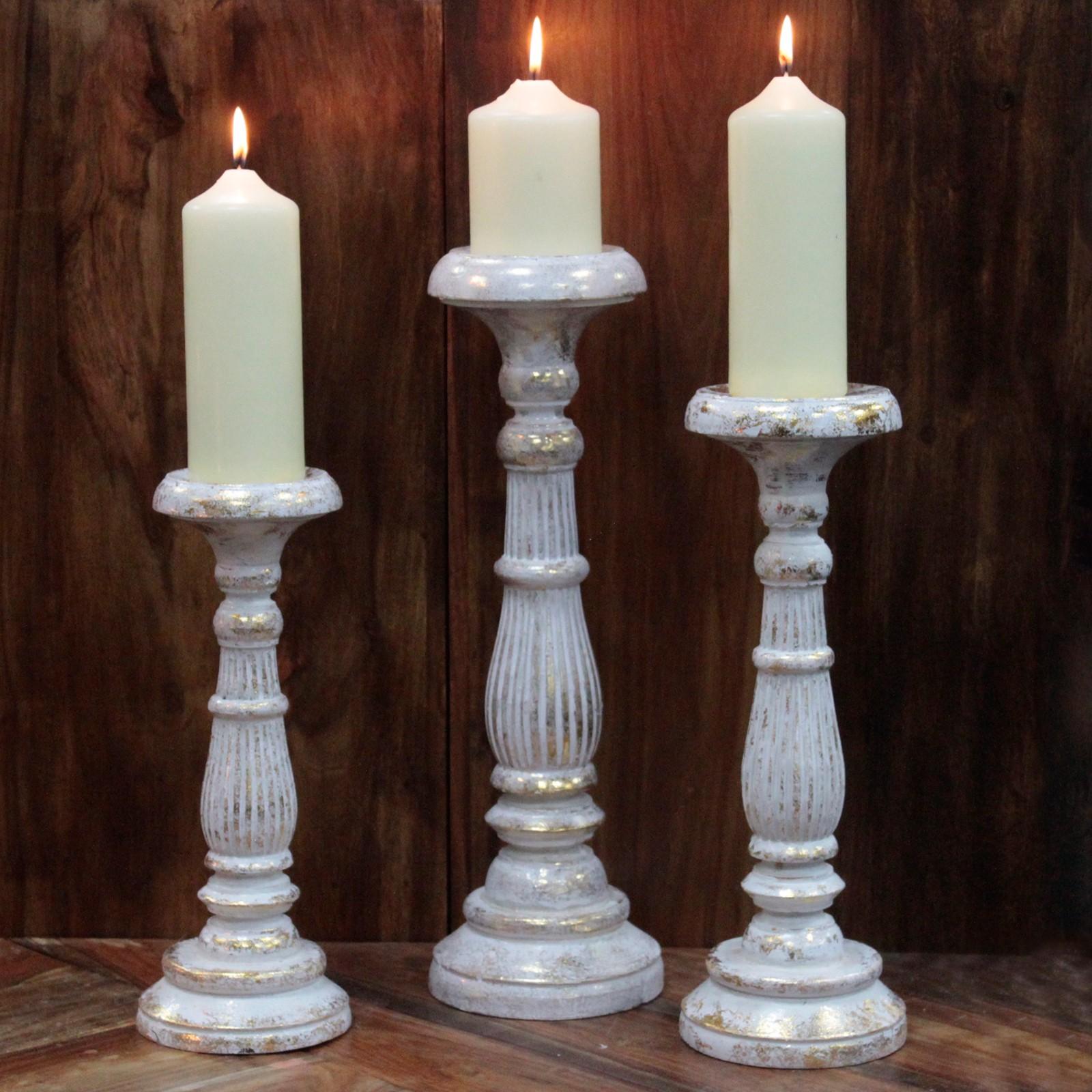 Svícny pro vysoké svíčky