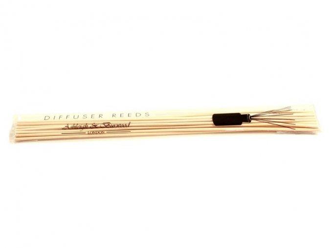 Tyčinky z bambusového dřeva do aroma difuzéru - natural 10 ks délka 28 cm