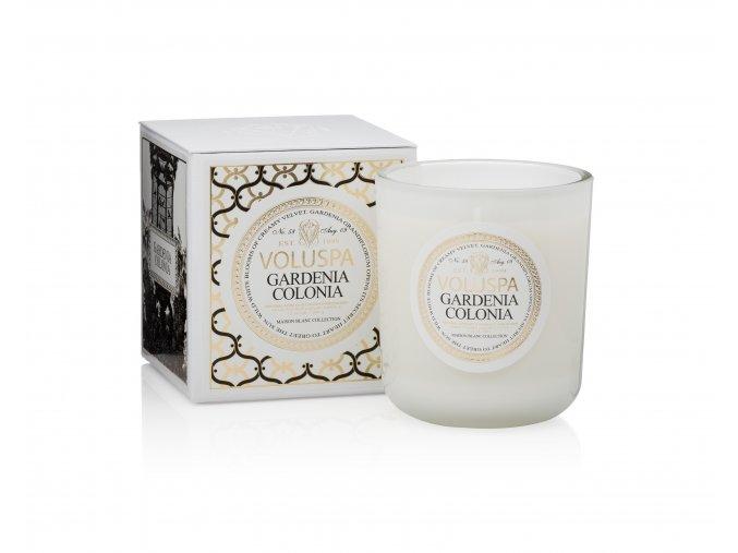 Vonná svíčka CLASSIC MAISON CANDLE - Gardenia Colonia, 340 g.