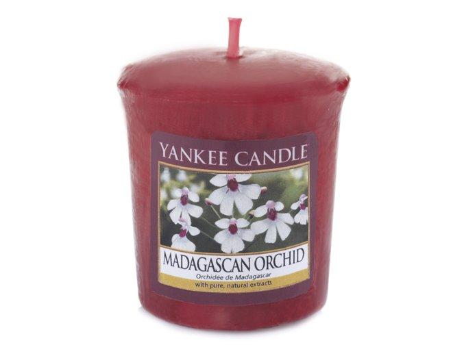 Yankee Candle Votivní svíčka Orchidej z Madagaskaru, 49 g