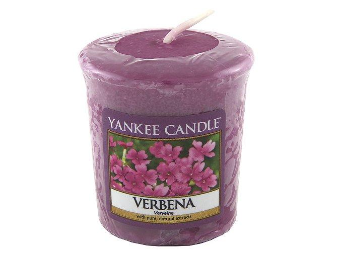 Votivní svíčka Yankee Candle Verbena, 49 g