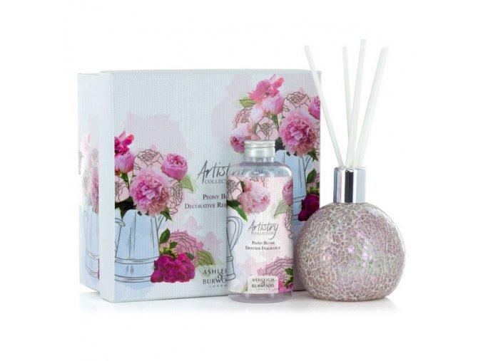 Aroma difuzér FROSTED ROSE s vůní PEONY BLUSH ARTISTRY, 180 ml