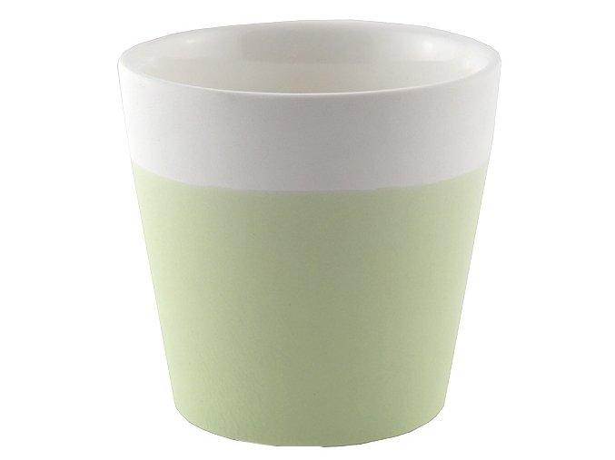 Svícen Yankee Candle – keramický, na votivní svíčku, zelená pastelová