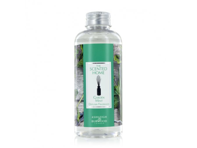 Náplň do aroma difuzéru GARDEN MINT, (THE SCENTED HOME) 150 ml