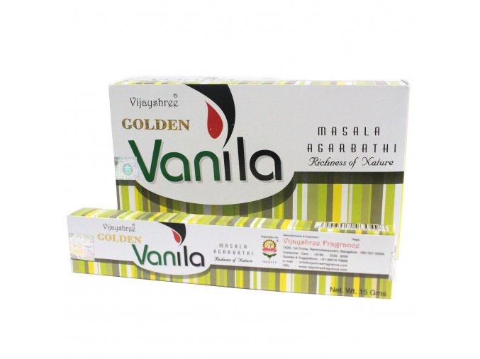 Vonné Tyčinky Vijayshree Golden Nag Vanilla, 15 g 2