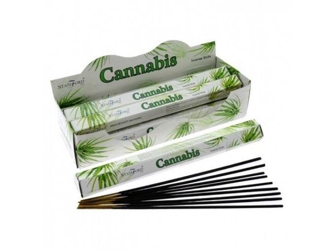 Vonné tyčinky Stamford Premium Cannabis, 20 ks