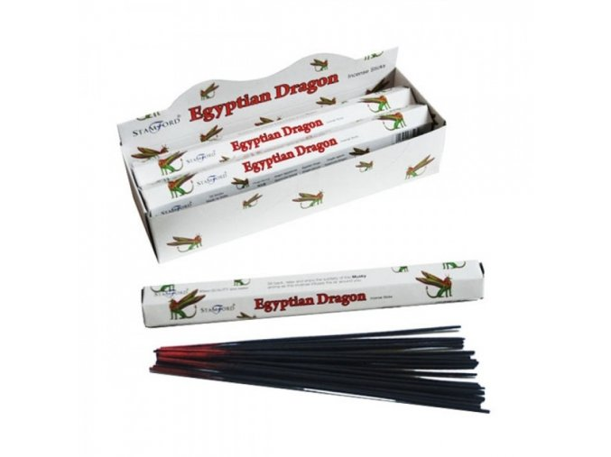 Vonné tyčinky Stamford Premium Egyptian Dragon, 20 ks