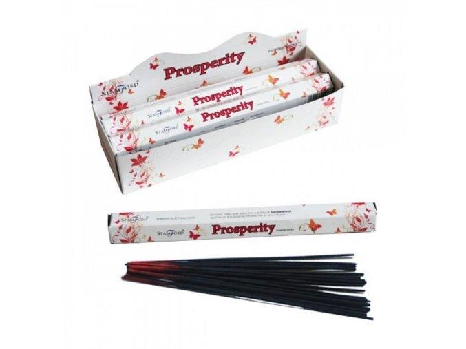 Vonné tyčinky Stamford Premium Prosperity, 20 ks