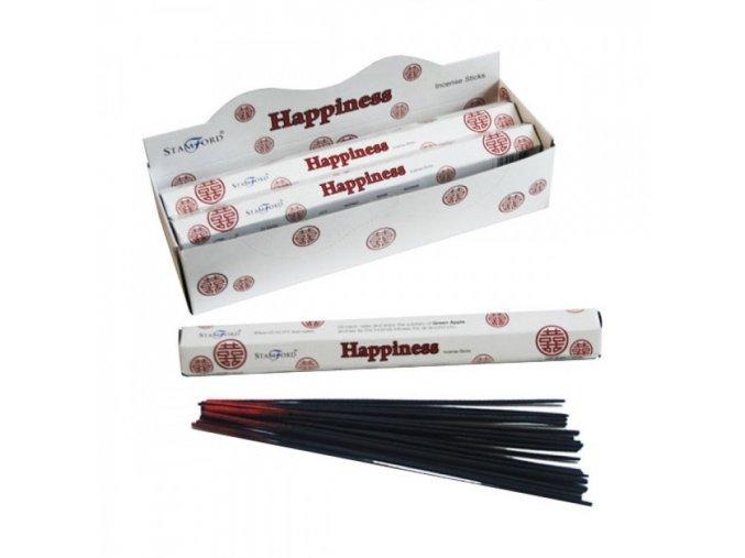 Vonné tyčinky Stamford Premium Happiness, 20 ks
