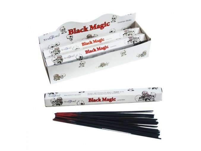 Vonné tyčinky Stamford Premium Black Magic, 20 ks