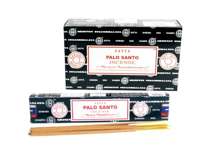 Vonné tyčinky Shrinivas Satya Palo Santo, 15 g
