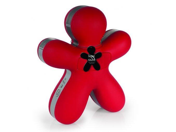 Aroma přístroj GEORGE BLUETOOTH Mr&Mrs Fragrance červený