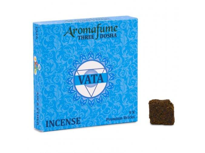 Aromafume vonné cihličky Bricks Vata dosha 9 ks