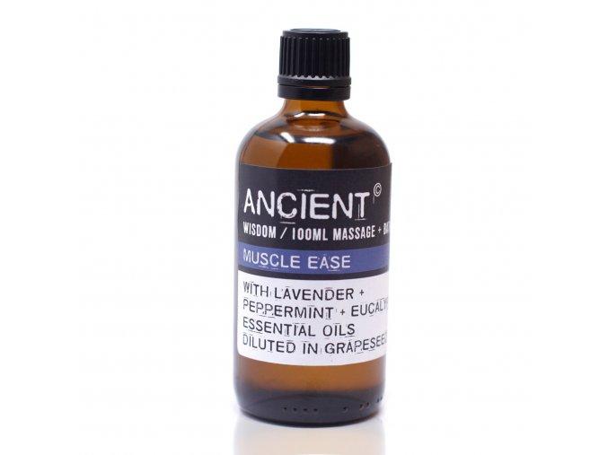 Aroma olej pro masáže a do koupele Uvolnění svalů směs, 100 ml