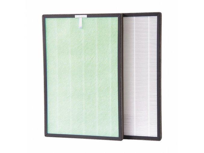 Náhradní kombinovaný filtr (antibakteriální + HEPA) pro čističku vzduchu Airbi SPRING
