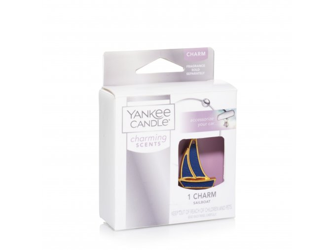 Přívěsek Yankee Candle – Charming Scent Sailboat