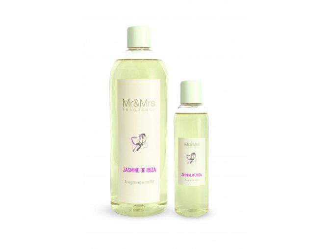 Náplň do aroma difuzéru Mr&Mrs BLANC Jasmin of Ibiza Jasmín z Ibizy, 200 ml