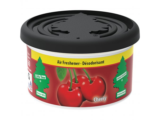Little Tree Fiber Can Air Freshener Cherry Višeň, 30 g