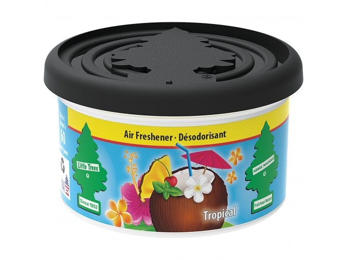 Little Tree Fiber Can Air Freshener Tropical Tropické ovoce, 30 g