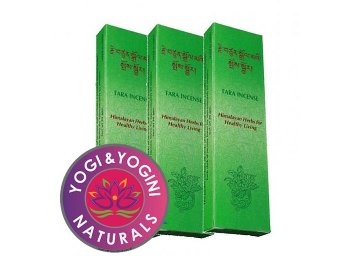 Vonné tyčinky Tibetan Tara Healthy living Zdravé bydlení, 20 g