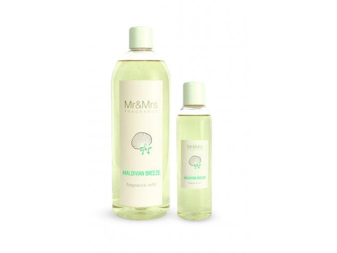 Náplň do aroma difuzéru Mr&Mrs BLANC Maldivian breeze Maldévský vánek, 200 ml