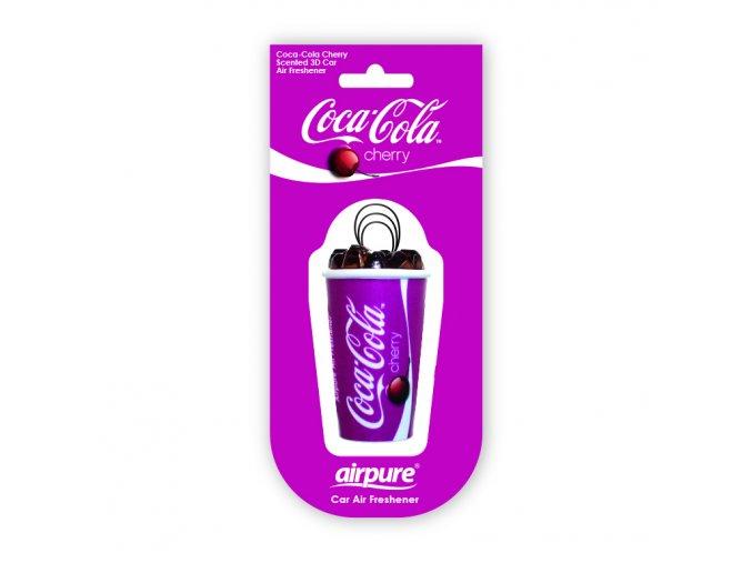 Osvěžovač vzduchu Coca Cola® 3D Air Freshener Cherry, 1 ks