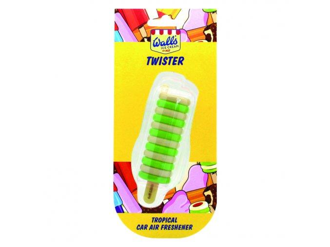 Osvěžovač vzduchu Wall's® Ice Cream Twister 3D Air Freshener Tropical, 1 ks