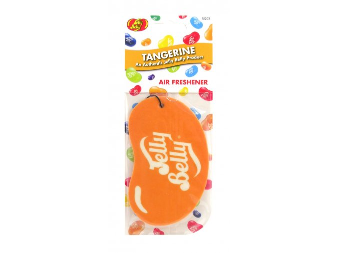 Vůně do auta Jelly Belly 2D Paper Air Freshener Tangerine Mandarinka, 1 ks