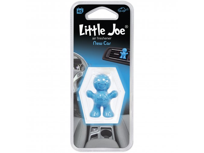Osvěžovač vzduchu Little Joe Vent 3D Air Freshener Blue New Car, 1 ks