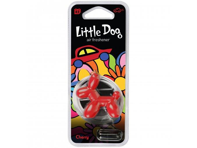 Osvěžovač vzduchu Little Dog Vent 3D Air Freshener Red Cherry, 1 ks