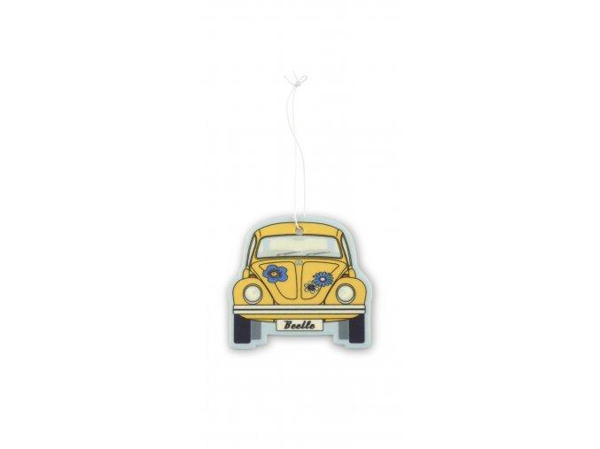 Osvěžovač vzduchu VW Beetle Air Freshener CoconutYellow 1 ks