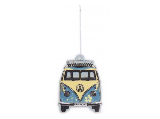 Osvěžovač vzduchu VW T1 Bus Air Freshener Pina ColadaTurquoise 1 ks