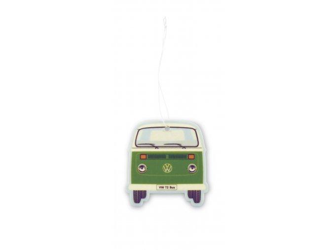 Osvěžovač vzduchu VW T2 Bus Air Freshener Green TeaGreen 1 ks