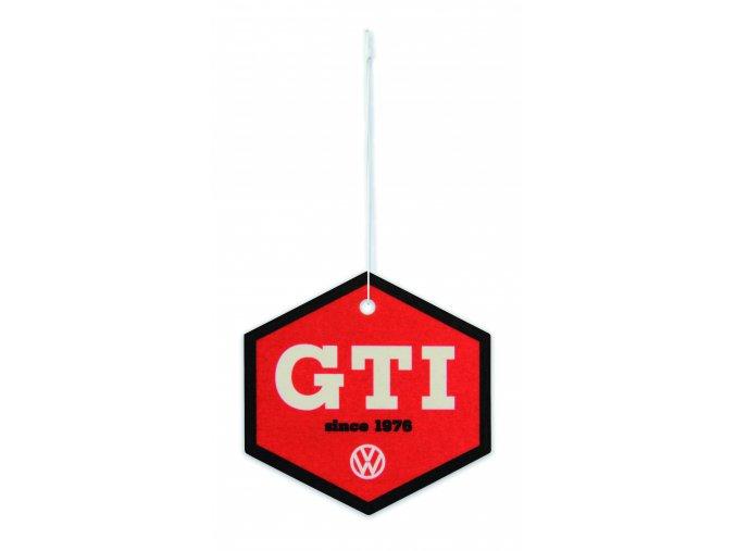 Osvěžovač vzduchu VW GTI Air Freshener Coconut, 1 ks