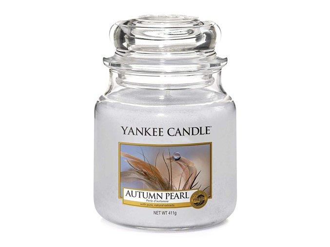 Vonná svíčka ve skleněné dóze Podzimní perla Autumn pearl, 411 g