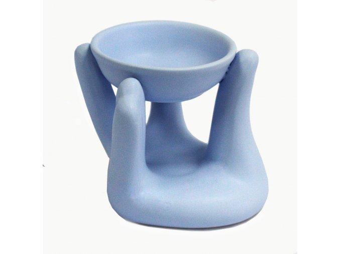 Aroma lampa Ruka Modrá, 10 x 12 x 10 cm