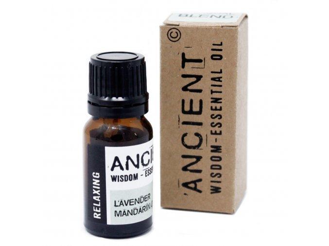 Vonný esenciální olej RELAXAČNÍ směs, 10 ml