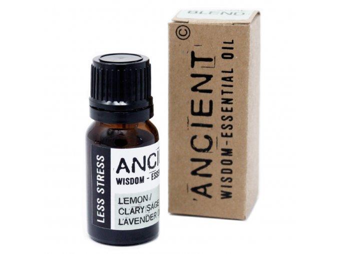 Vonný esenciální olej MÉNĚ STRESU směs, 10 ml