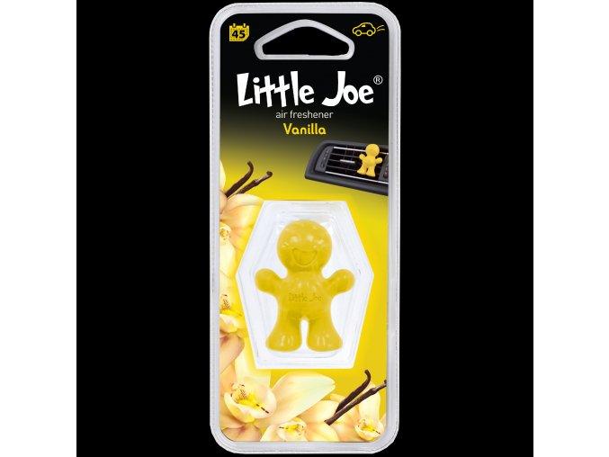 Osvěžovač vzduchu Little Joe Vent Air Freshener Yellow Vanilla, 1 ks