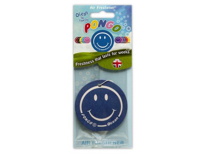 Osvěžovač vzduchu Pongo Smiley 2D Air Freshener Oceán, 1 ks