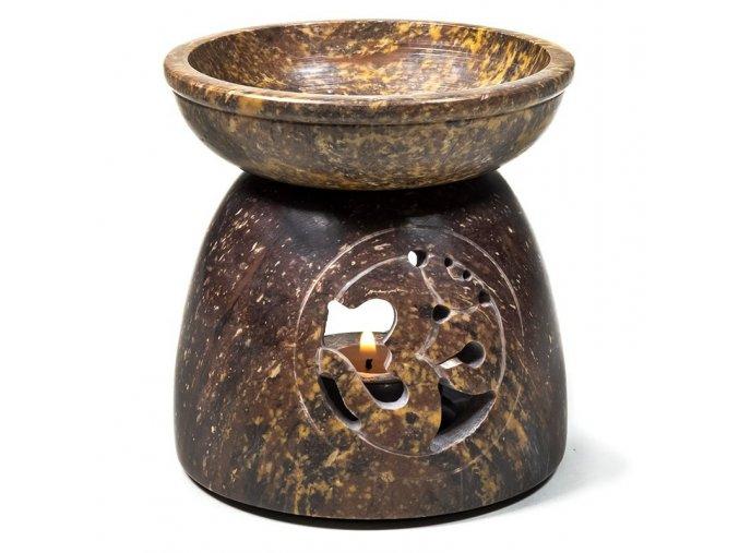 Aroma lampa mastek OHM béžová, 11 x 10 cm